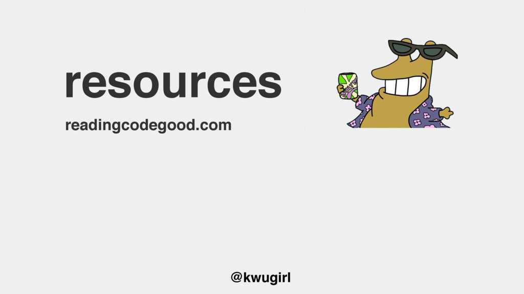 @kwugirl resources readingcodegood.com