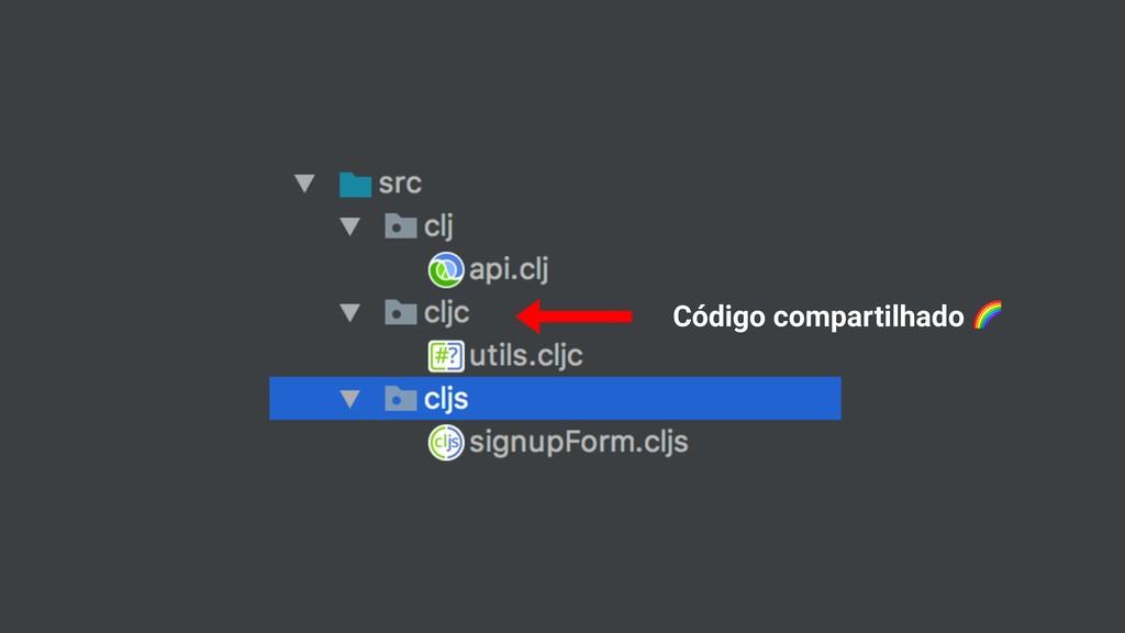 Código compartilhado