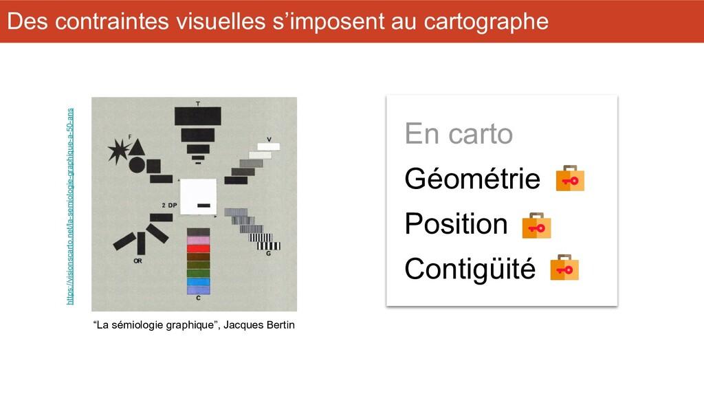 """""""La sémiologie graphique"""", Jacques Bertin En ca..."""