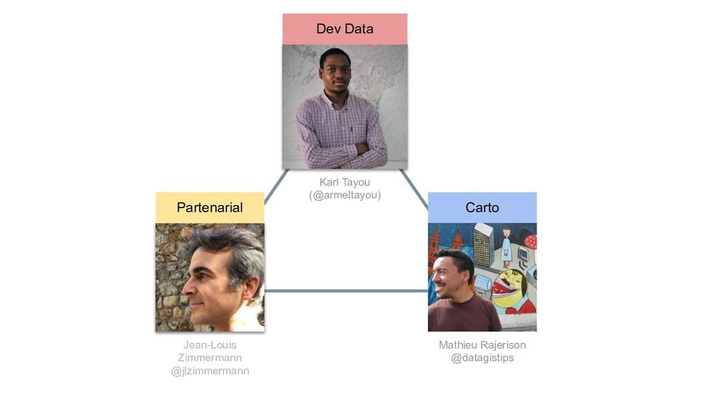 Dev Data Partenarial Carto Karl Tayou (@armelta...