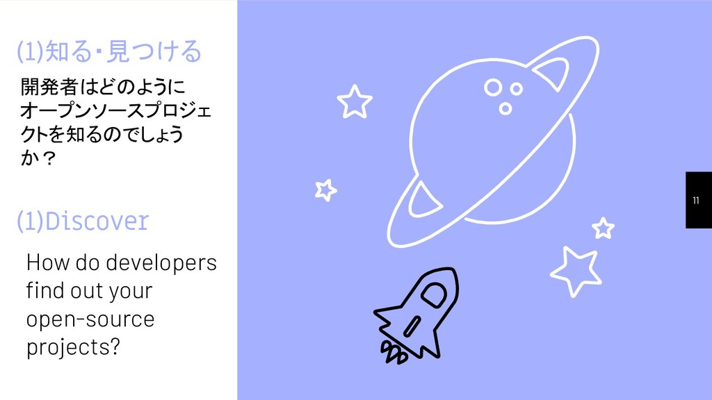 (1)Discover How do developers find out your open...
