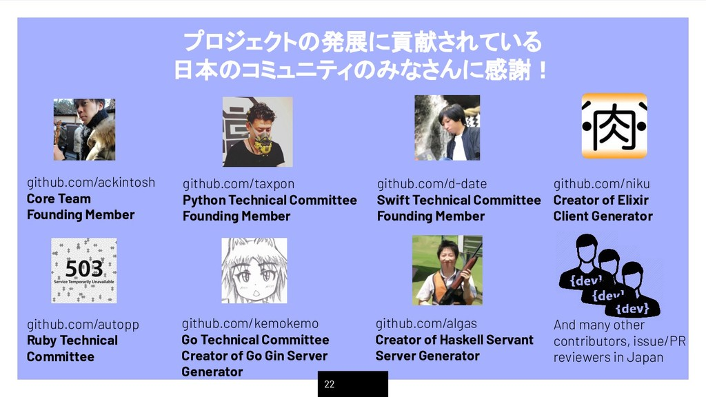 22 github.com/kemokemo Go Technical Committee C...