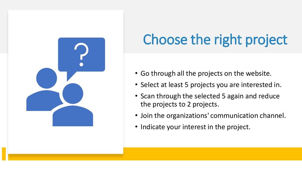 Interswitch - INTERNAL Choose the right project...