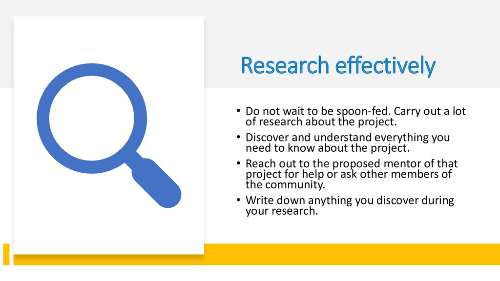 Interswitch - INTERNAL Research effectively • D...