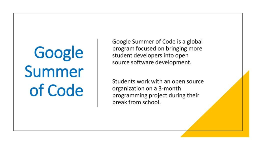 Interswitch - INTERNAL Google Summer of Code Go...