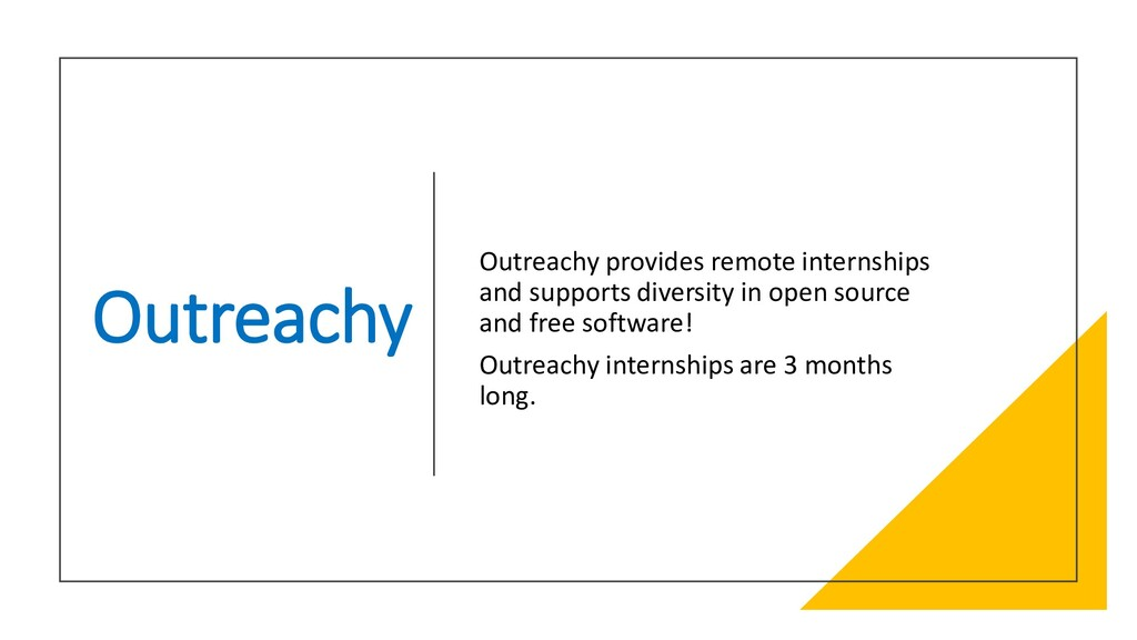 Interswitch - INTERNAL Outreachy Outreachy prov...