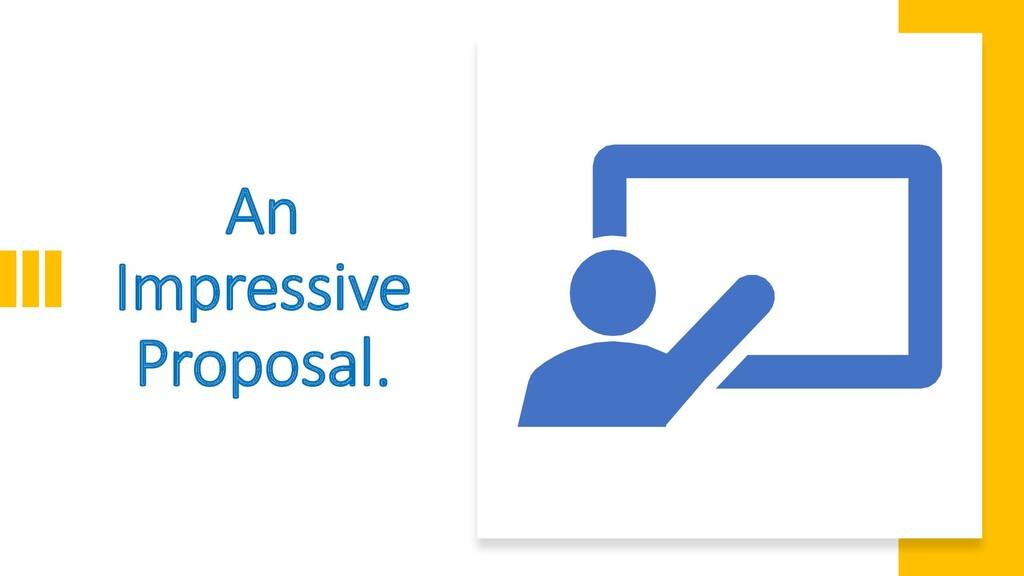 Interswitch - INTERNAL An Impressive Proposal.