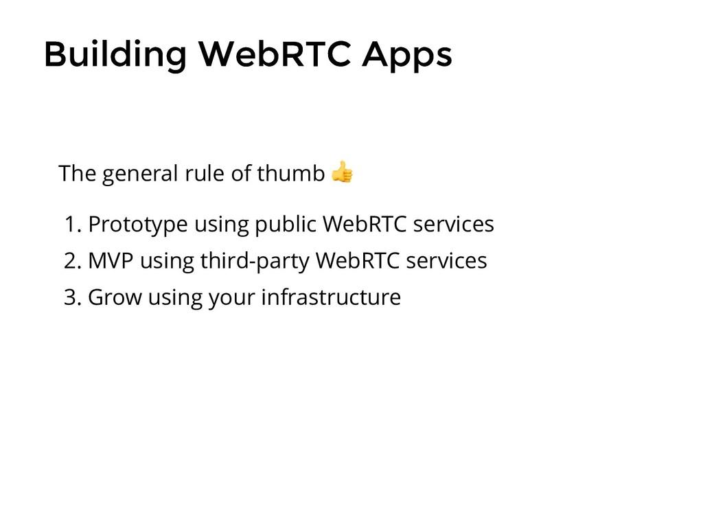 Building WebRTC Apps Building WebRTC Apps 1. Pr...