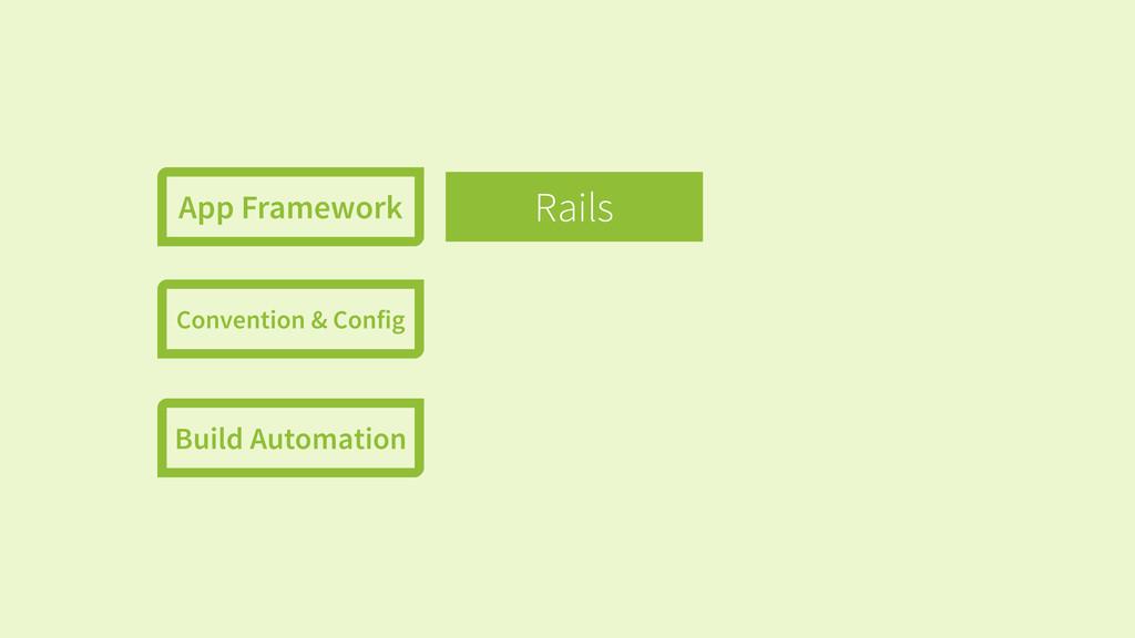 Rails App Framework Convention & Config Build A...