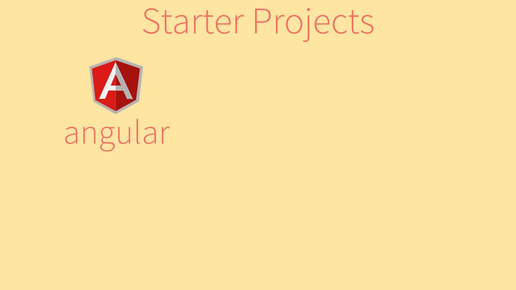 angular Starter Projects