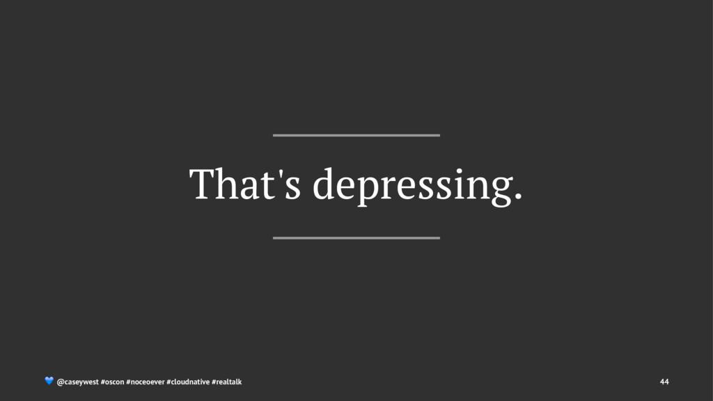 That's depressing. ! @caseywest #oscon #noceoev...