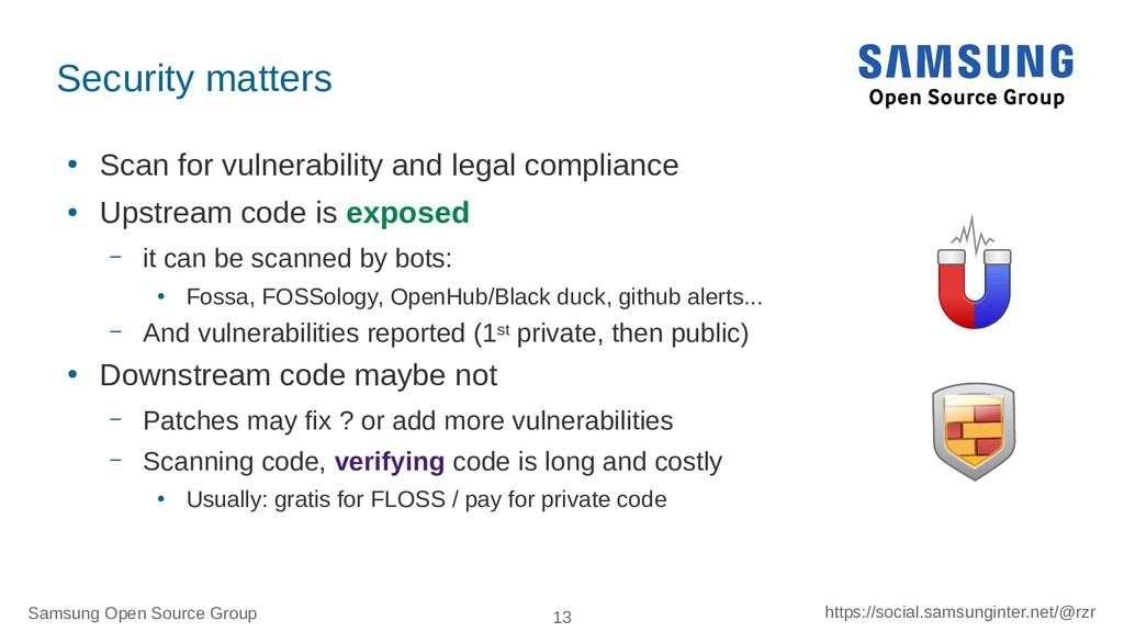 Samsung Open Source Group 13 https://social.sam...