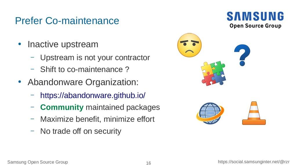 Samsung Open Source Group 16 https://social.sam...