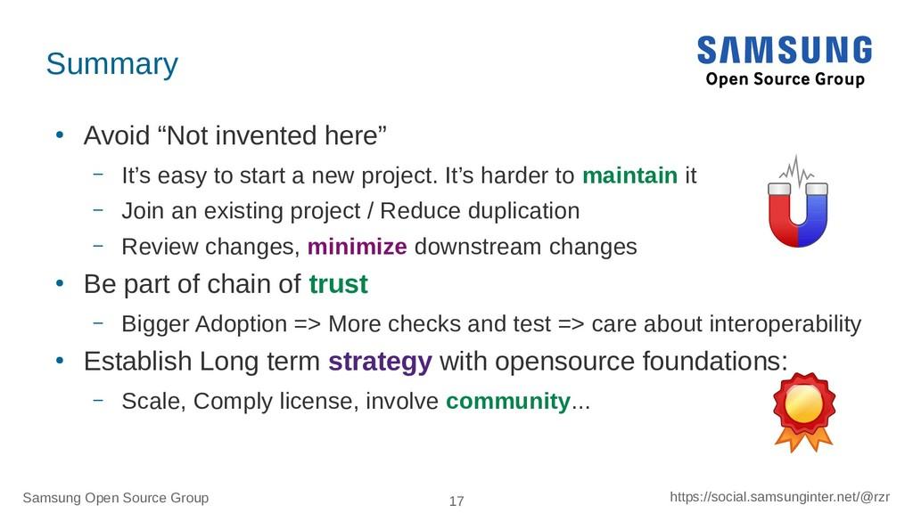 Samsung Open Source Group 17 https://social.sam...