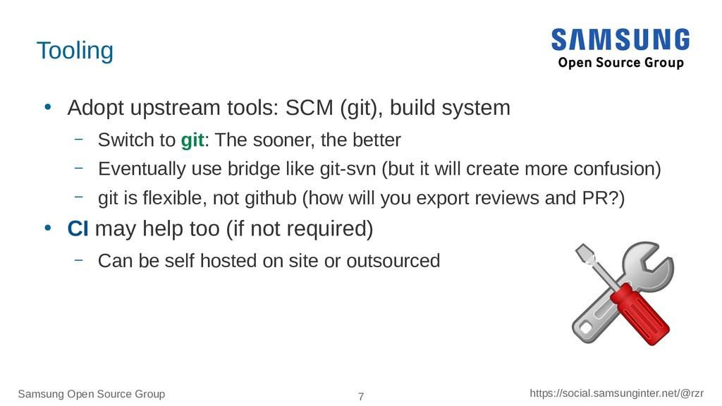 Samsung Open Source Group 7 https://social.sams...