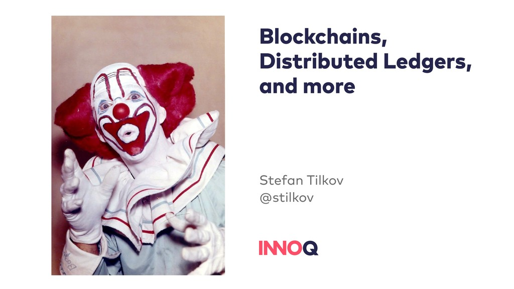 Blockchains, Distributed Ledgers, and more Stef...