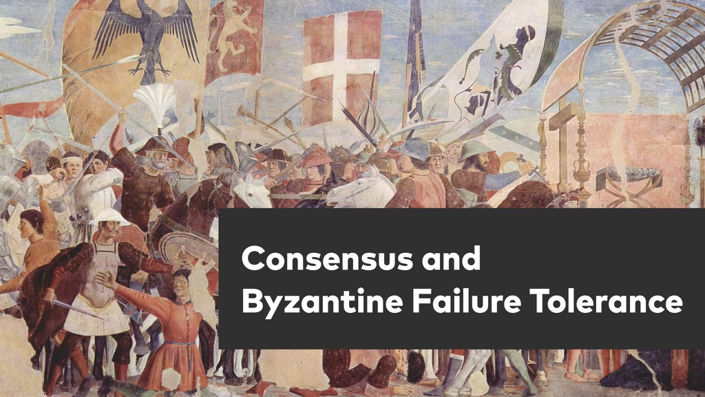 Consensus and Byzantine Failure Tolerance