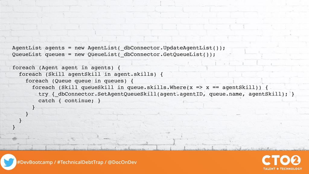 #DevBootcamp / #TechnicalDebtTrap / @DocOnDev A...