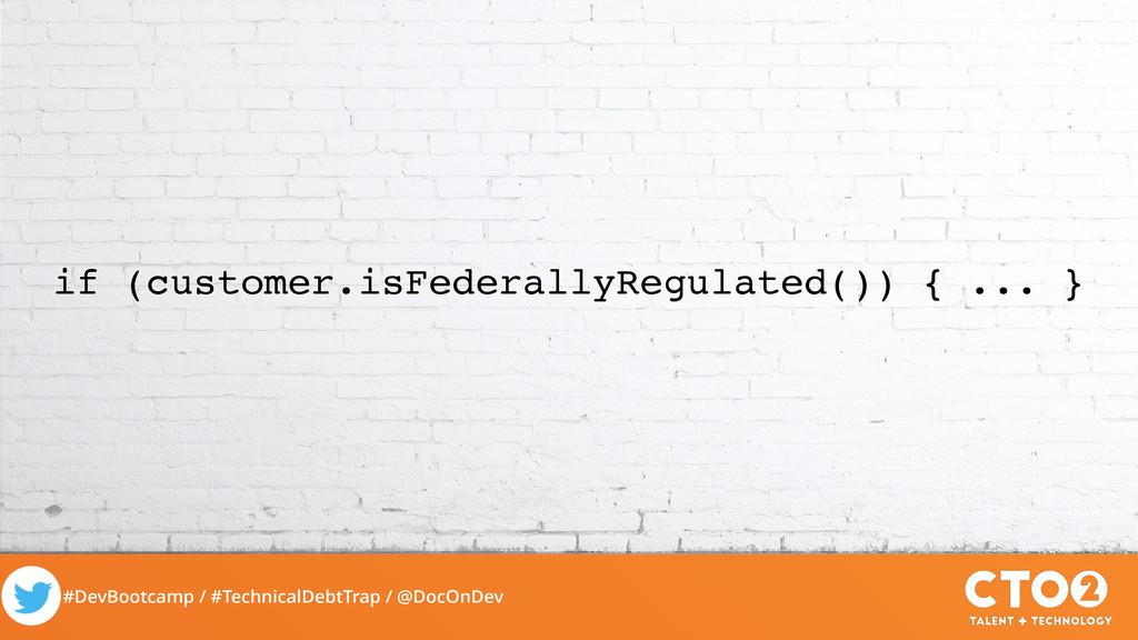 #DevBootcamp / #TechnicalDebtTrap / @DocOnDev i...