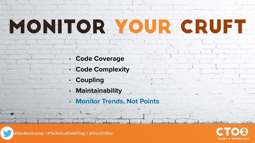 #DevBootcamp / #TechnicalDebtTrap / @DocOnDev M...