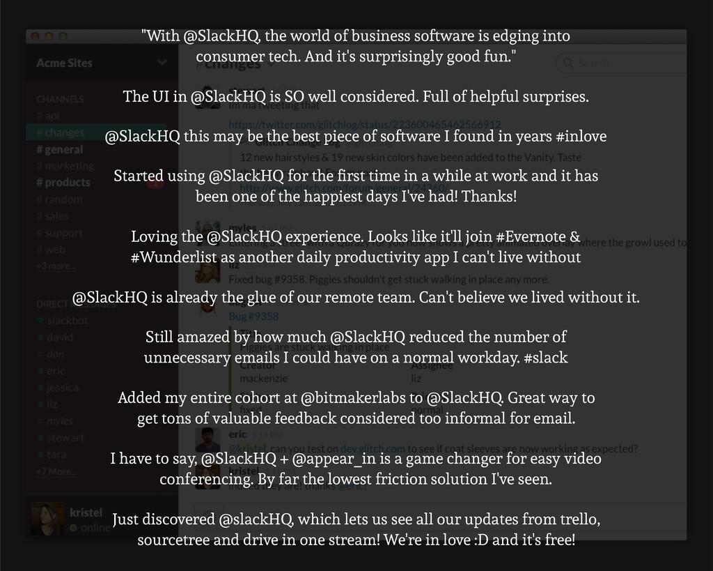 Still amazed by how much @SlackHQ reduced the n...