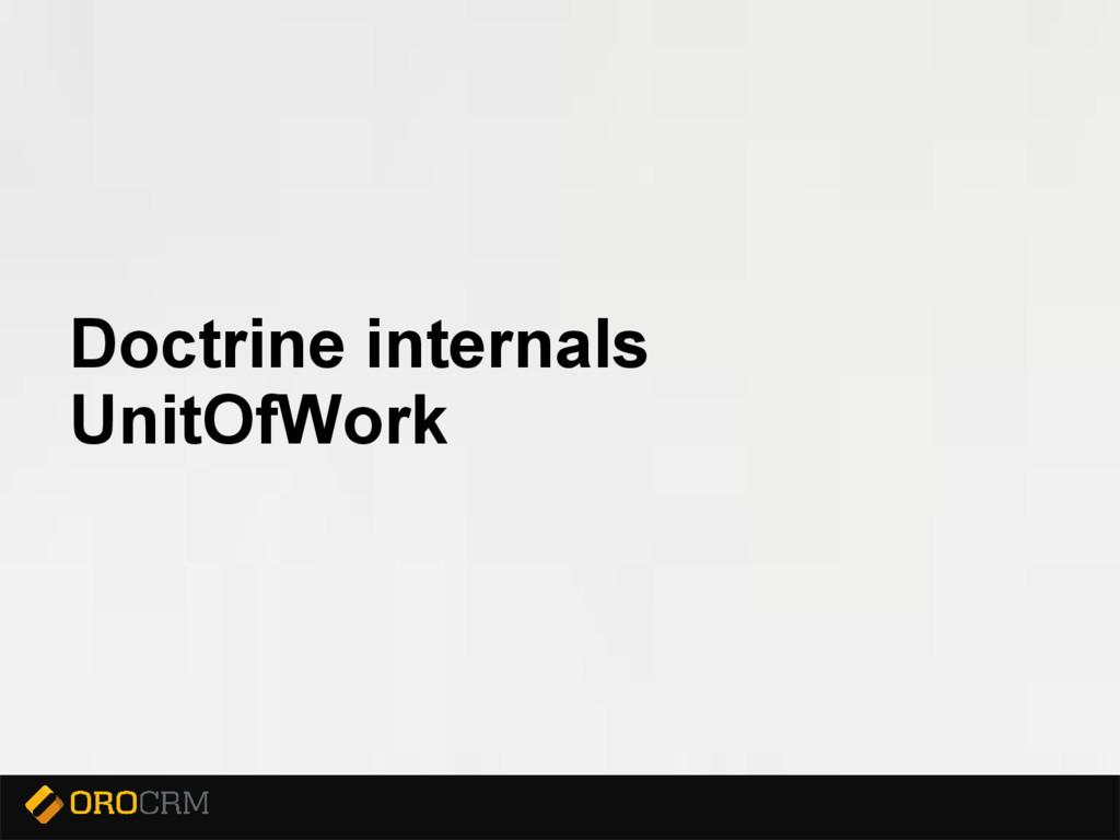 Presentation title here Doctrine internals Unit...