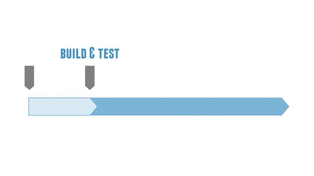 build & test