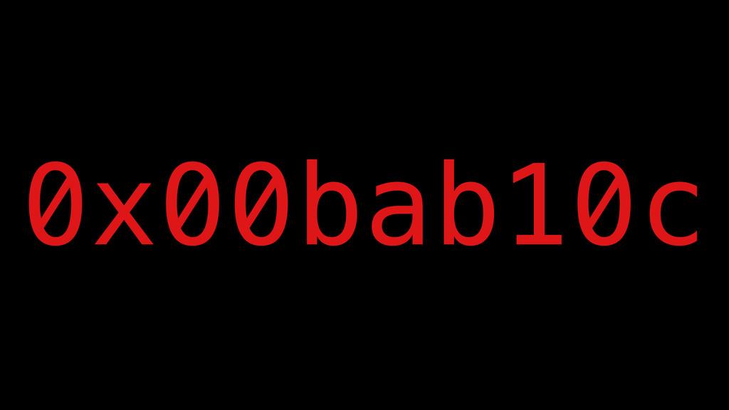 0x00bab10c