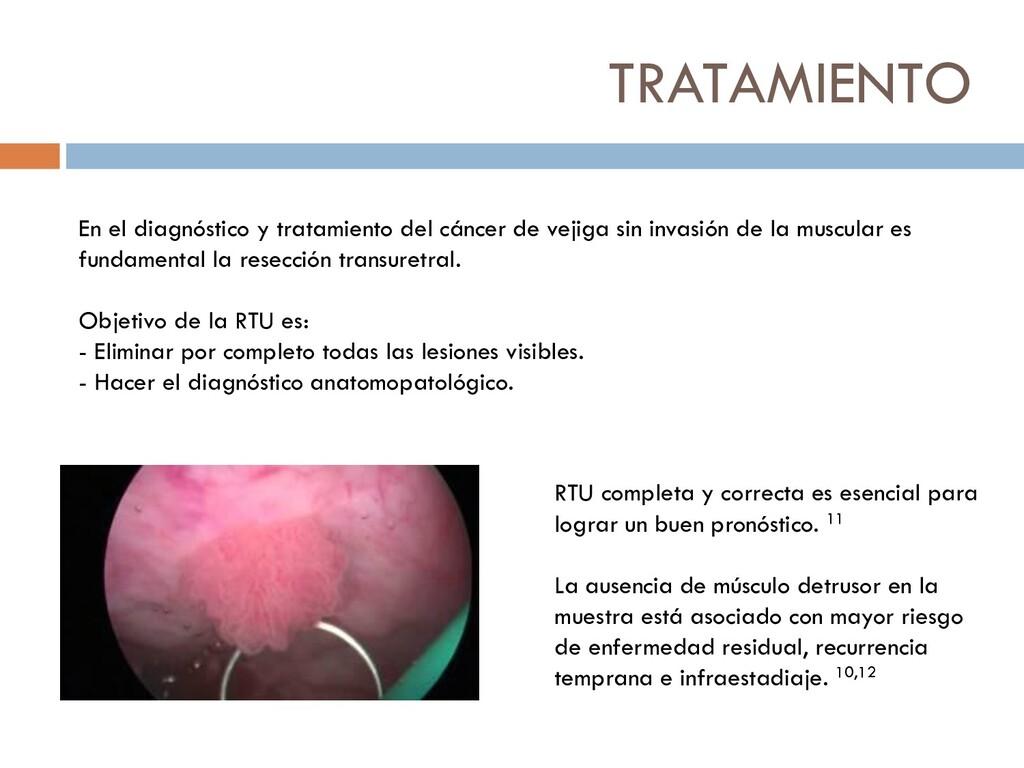 TRATAMIENTO En el diagnóstico y tratamiento del...