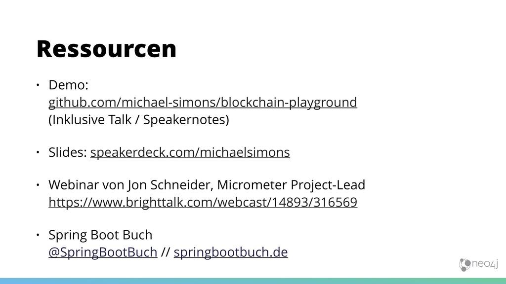 • Demo:  github.com/michael-simons/blockchain-...