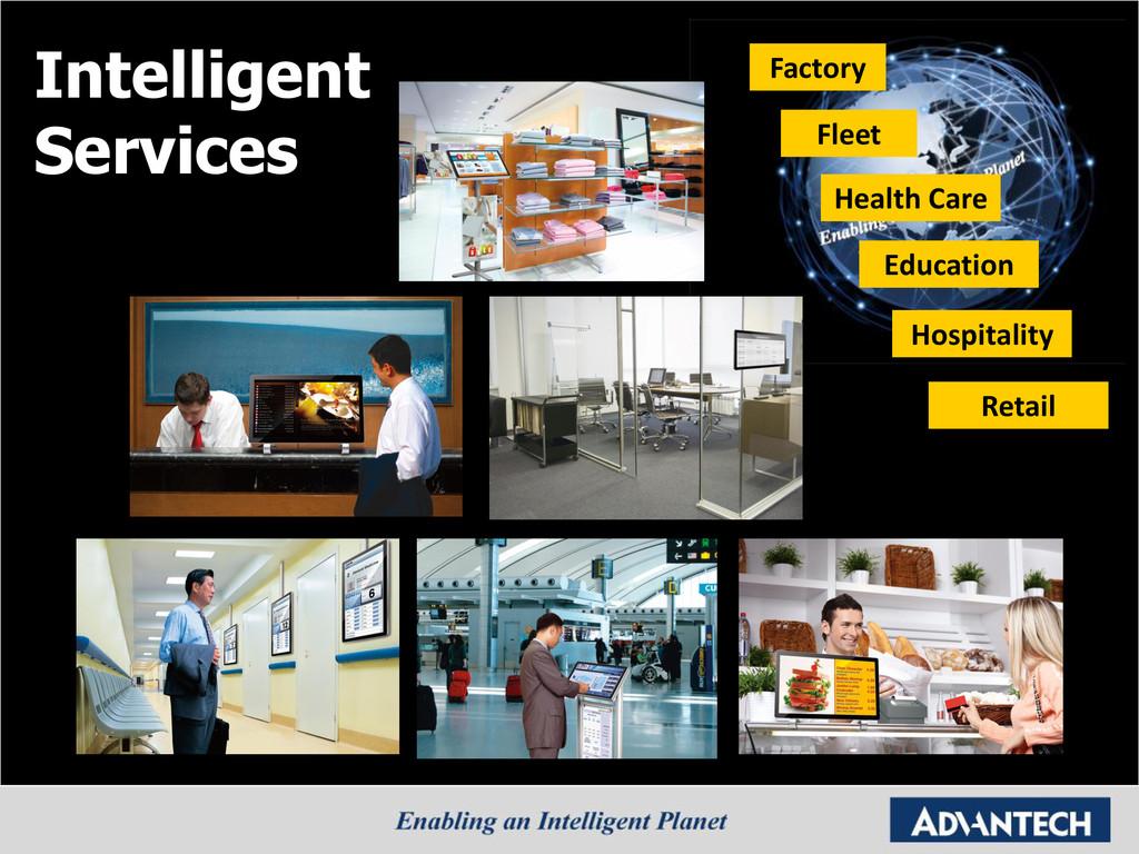 Intelligent Services Factory Fleet Health Care ...