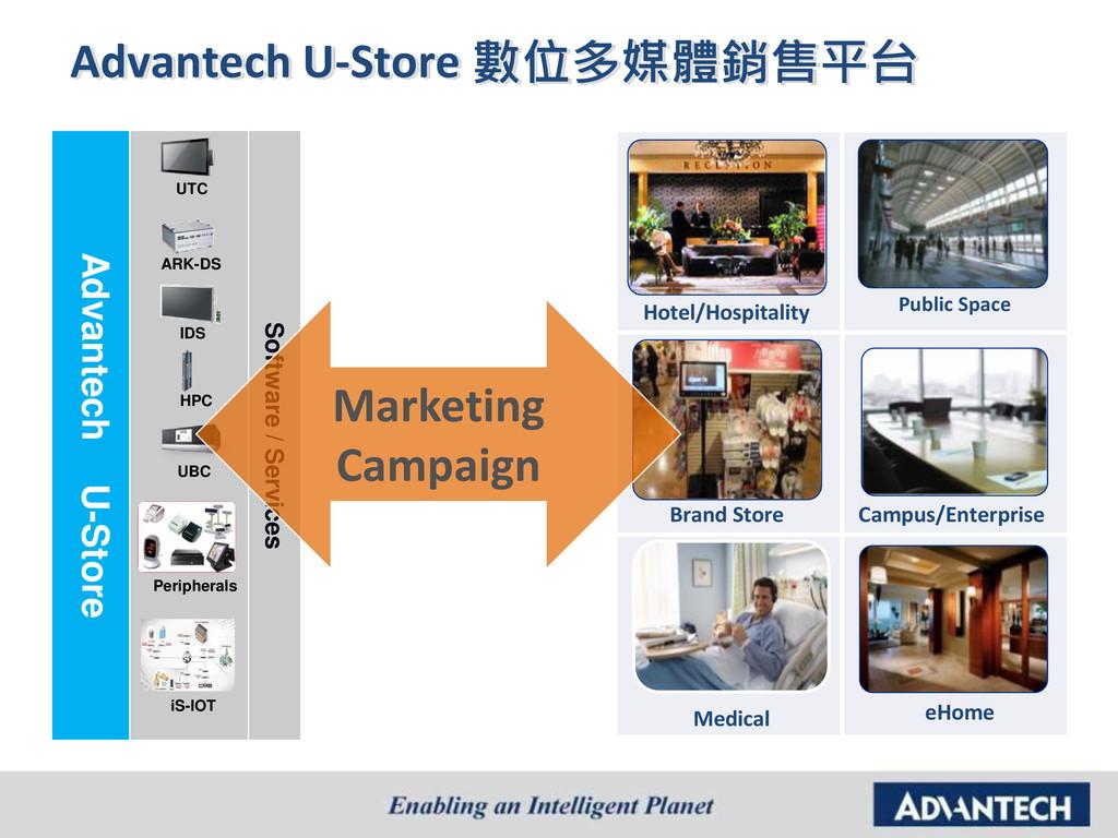 Advantech U-Store 數位多媒體銷售平台 Scenario Design-in ...