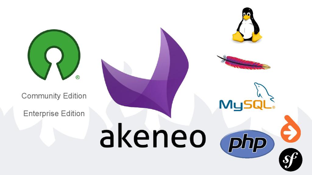 Community Edition Enterprise Edition
