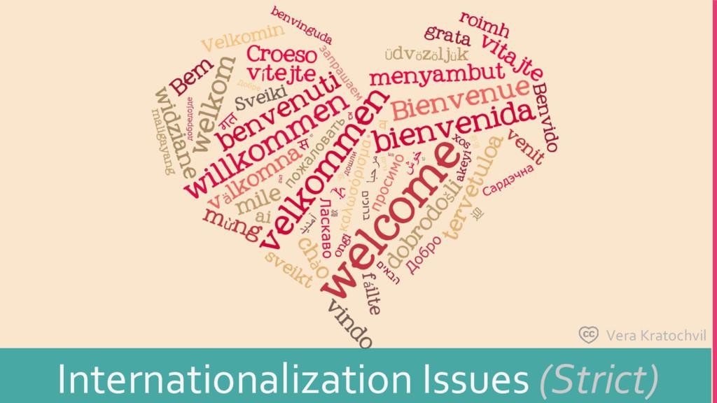 Vera Kratochvil Internationalization Issues (St...