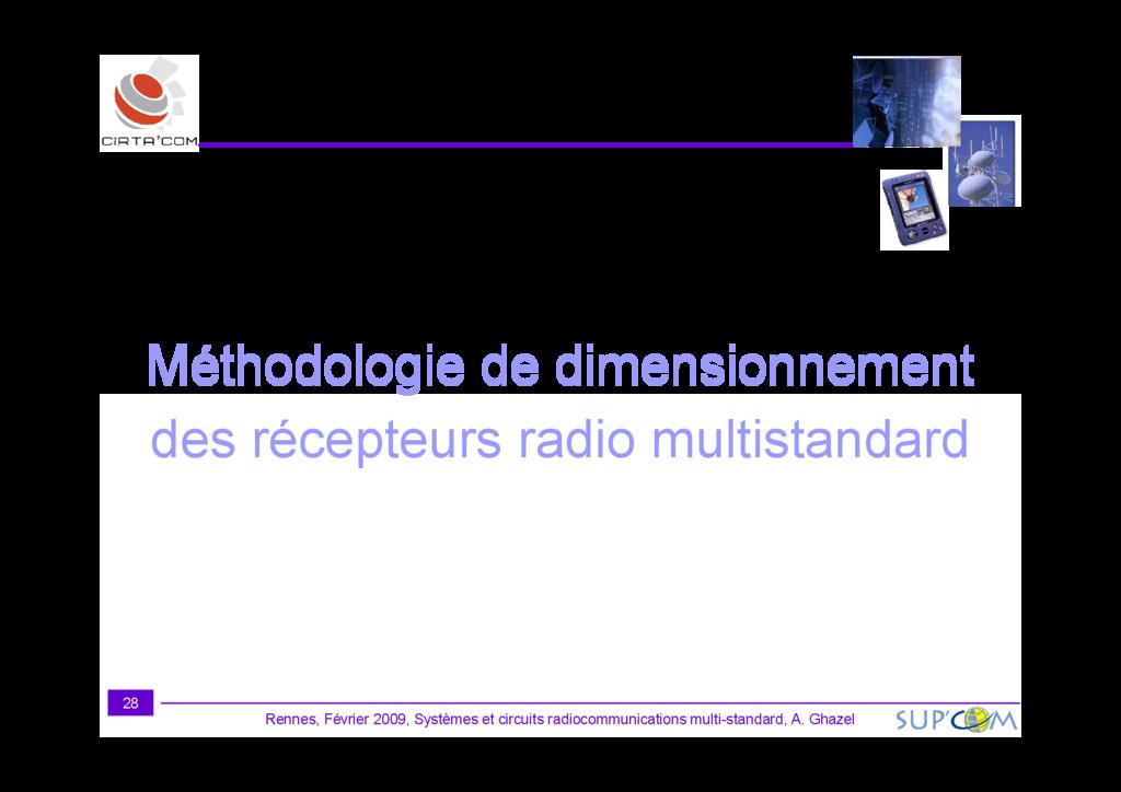 Méthodologie de dimensionnement Rennes, Février...