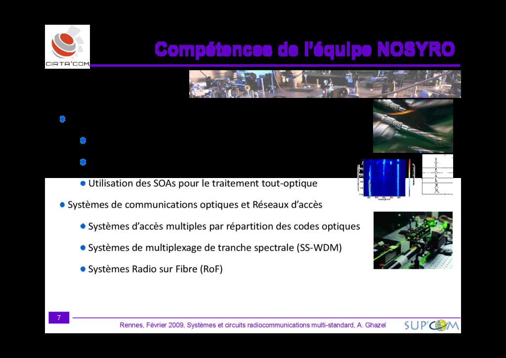Dispositifs Optiques et Optoélectroniques Crist...