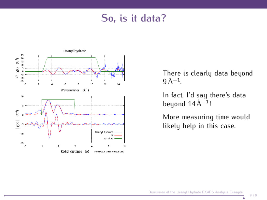 So, is it data? There is clearly data beyond 9 ...