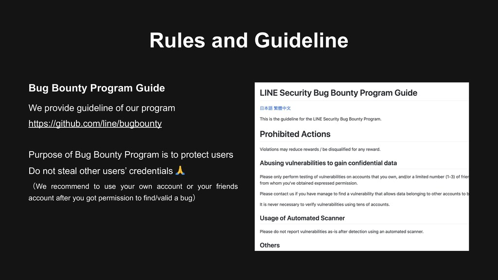 Rules and Guideline Bug Bounty Program Guide We...