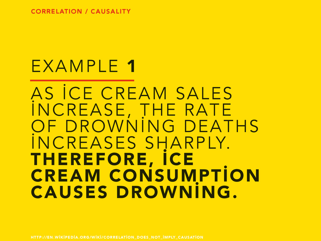AS İCE CREAM SALES İNCREASE, THE RATE OF DROWNİ...