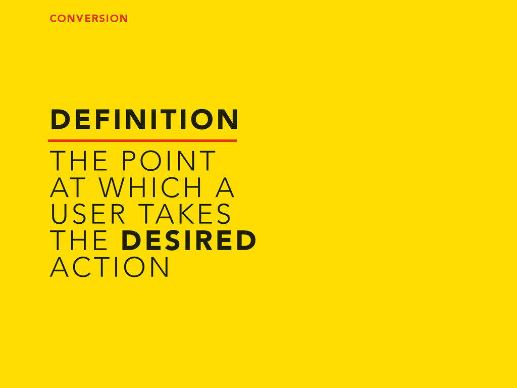 DEFINITION THE POINT AT WHICH A USER TAKES THE ...