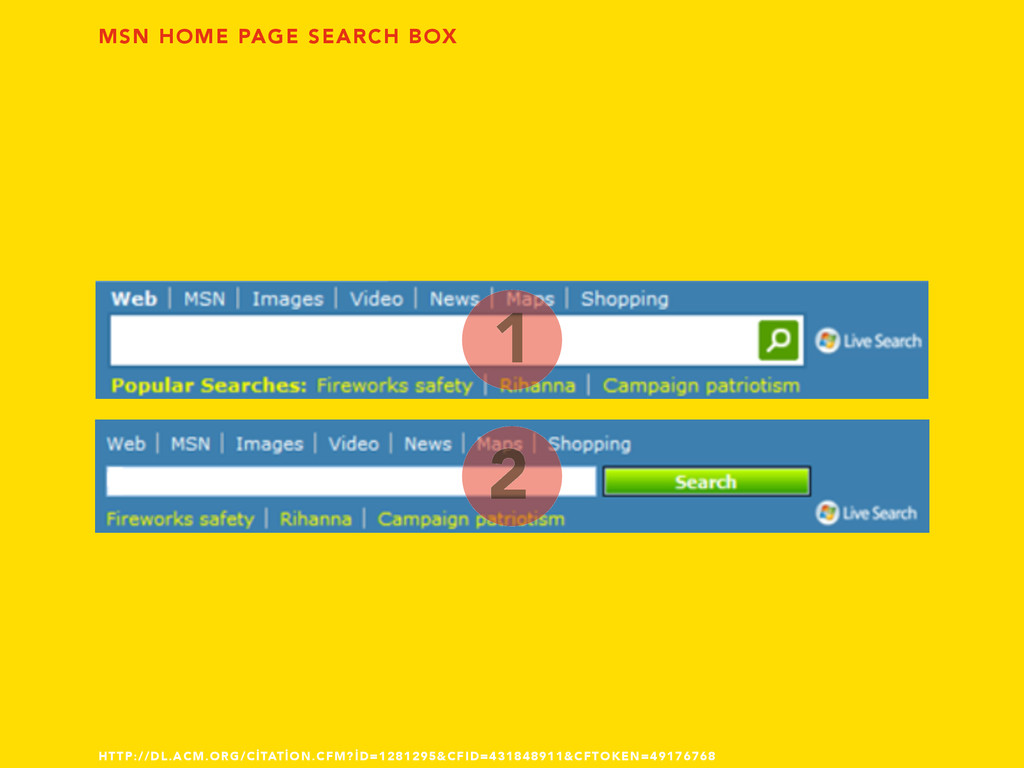 MSN HOME PAGE SEARCH BOX 1 2 HTTP://DL.ACM.ORG/...