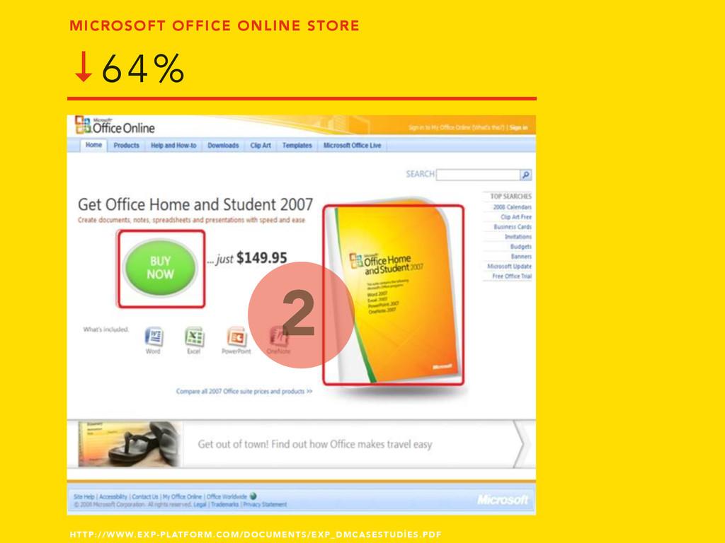 MICROSOFT OFFICE ONLINE STORE ↓64% 2 HTTP://WWW...