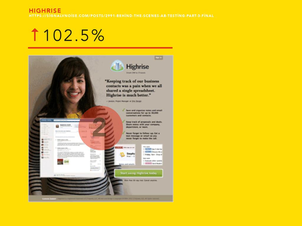 HIGHRISE 2 ↑102.5% HTTPS://SİGNALVNOİSE.COM/POS...
