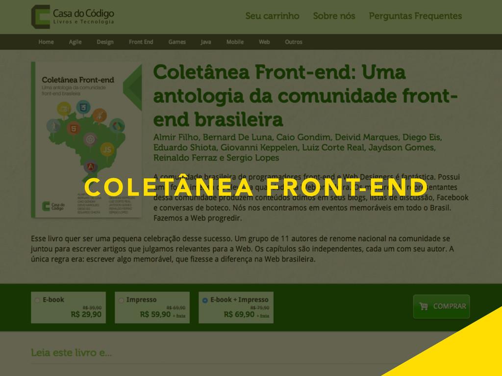 COLETÂNEA FRONT-END