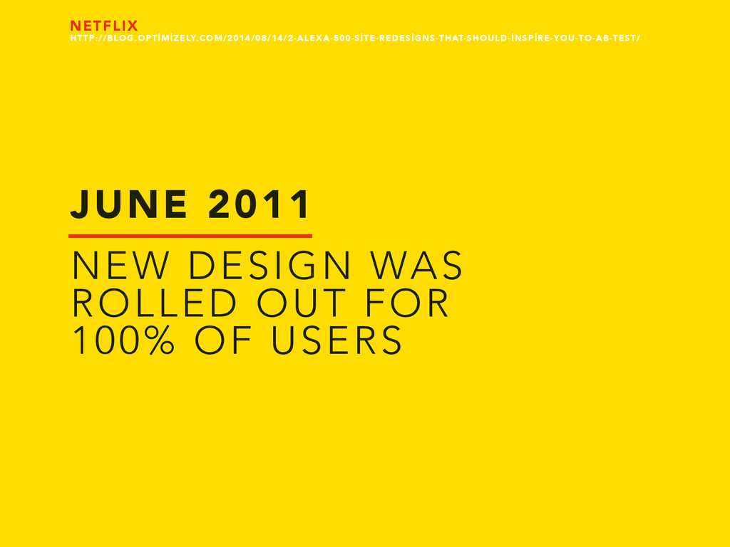 JUNE 2011 NEW DESIGN WAS ROLLED OUT FOR 100% OF...