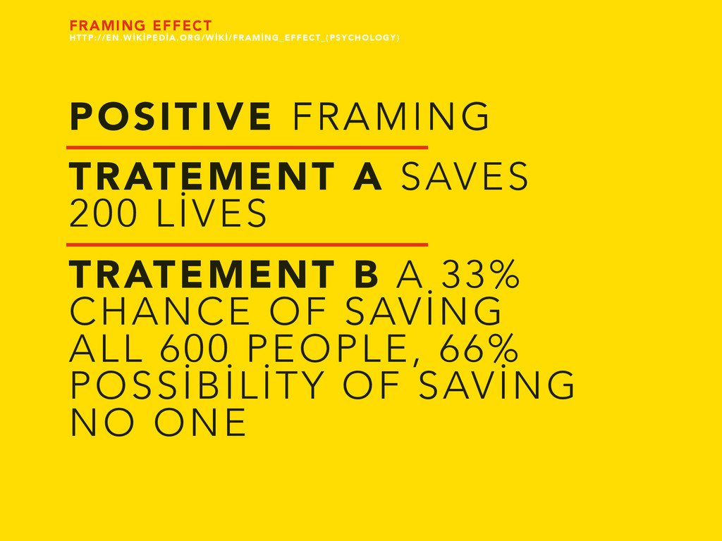 POSITIVE FRAMING TRATEMENT A SAVES 200 LİVES TR...