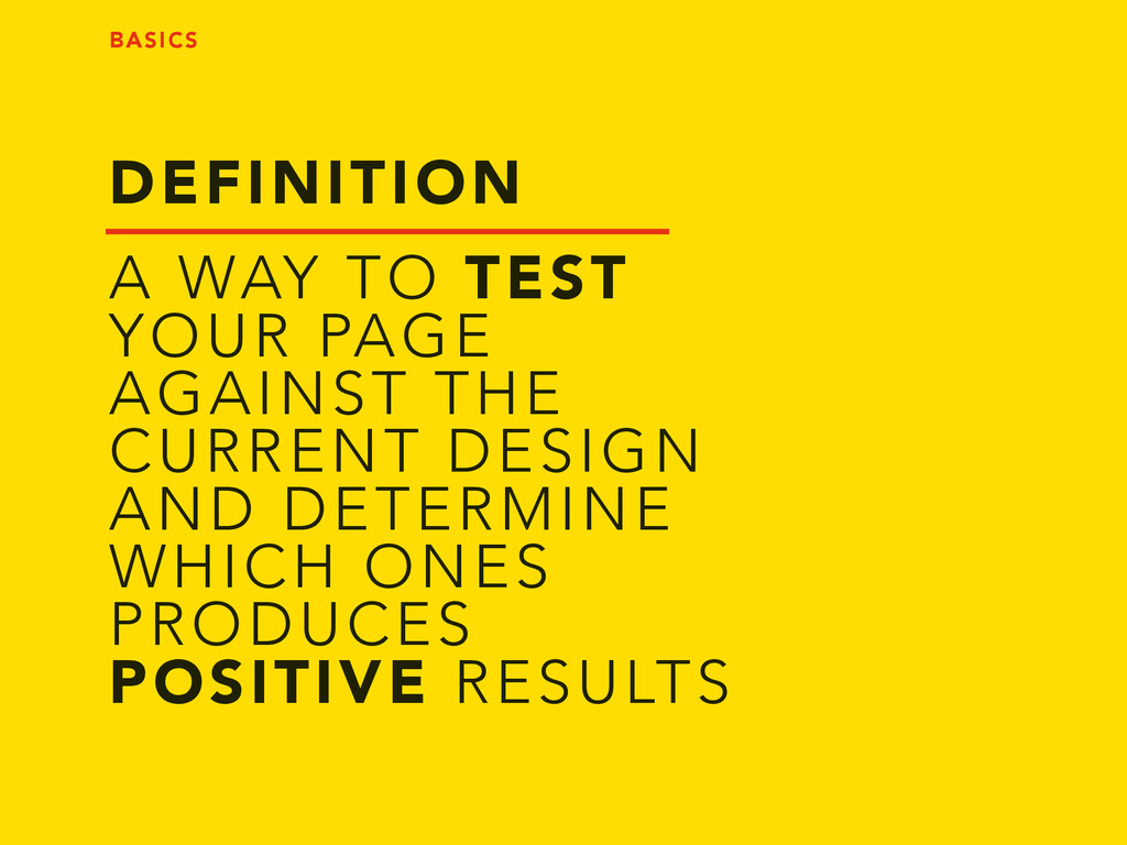 DEFINITION A WAY TO TEST YOUR PAGE AGAINST THE ...