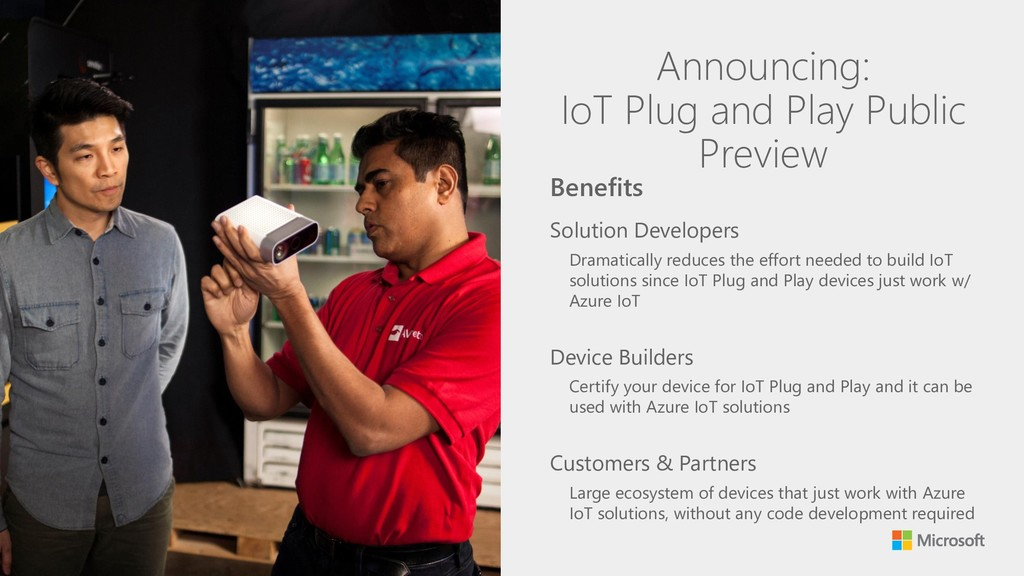 Announcing: IoT Plug and Play Public Preview So...