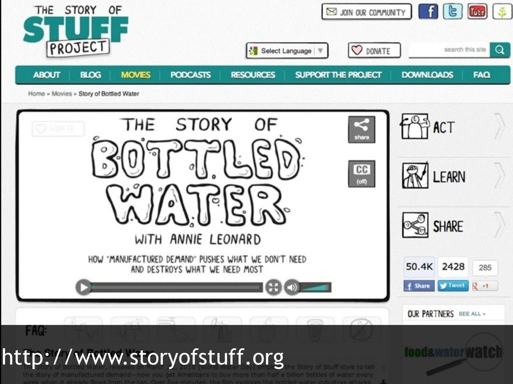 http://www.storyofstuff.org