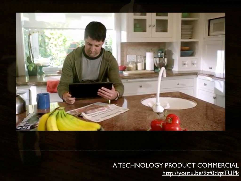 A TECHNOLOGY PRODUCT COMMERCIAL http://youtu.be...